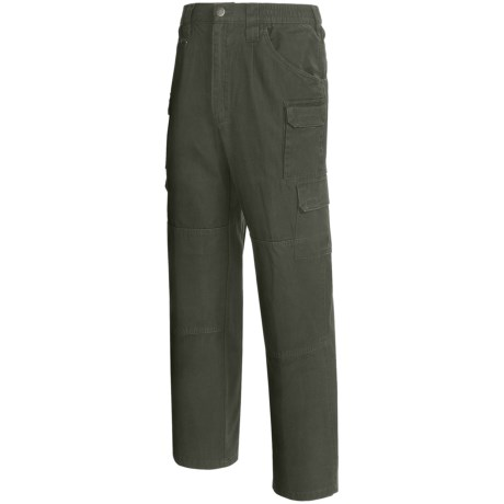 Woolrich Elite Tactical Pants - Cotton Canvas (For Men) in Od Green