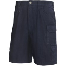 Woolrich Elite Tactical Shorts - Cotton Canvas (For Men) in Navy - Closeouts