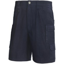 Woolrich Elite Tactical Shorts - Cotton Canvas (For Men) in Navy