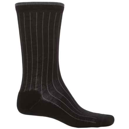 Woolrich Everyday Heritage Lambswool Socks - Merino Wool  (For Men) in Black - Closeouts