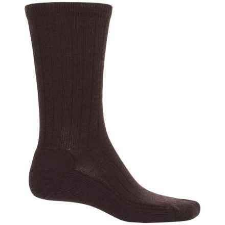 Woolrich Everyday Heritage Lambswool Socks - Merino Wool  (For Men) in Brown - Closeouts