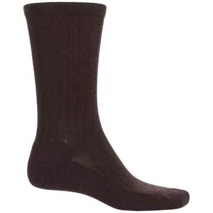 Woolrich Everyday Heritage Lambswool Socks - Merino Wool  (For Men) in Brown - Closeouts