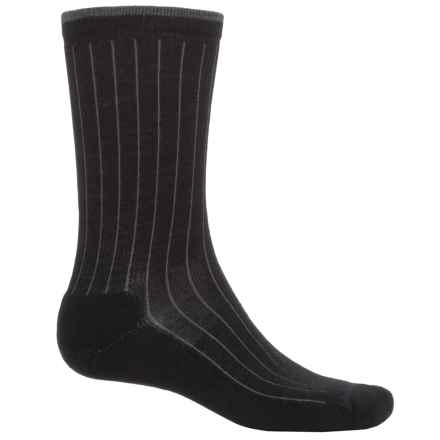 Woolrich Everyday Heritage Lambswool Socks - Merino Wool  (For Men) in Granite - Closeouts