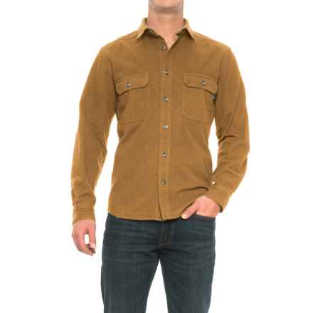 Woolrich Expedition Chamois Shirt - Long Sleeve (For Men) in Chicory - Closeouts