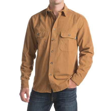 Woolrich Expedition Chamois Shirt - Long Sleeve (For Men) in Chy Chicory - Closeouts
