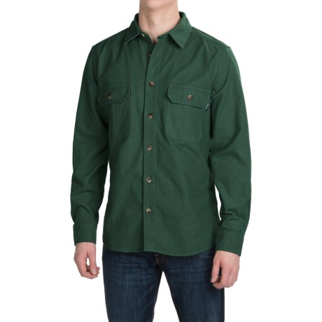Woolrich Expedition Chamois Shirt Long Sleeve (For Men)