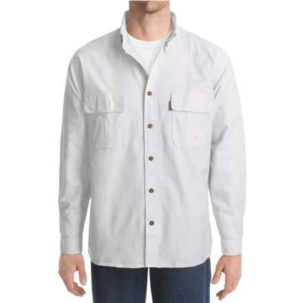 Woolrich Explorer Solid Shirt - Cotton, Long Sleeve (For Men) in White - Closeouts