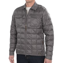 Woolrich Exposure Down Shirt Jacket - 800 Fill Power (For Men) in Pumice - Closeouts