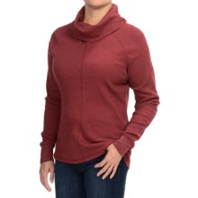 Woolrich Fairmount Cowl Neck Shirt - Long Sleeve (For Women) in Deep Ruby - Closeouts