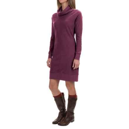 Woolrich Fairmount Waffle Dress - Long Sleeve (For Women) in Wine/Indigo - Closeouts