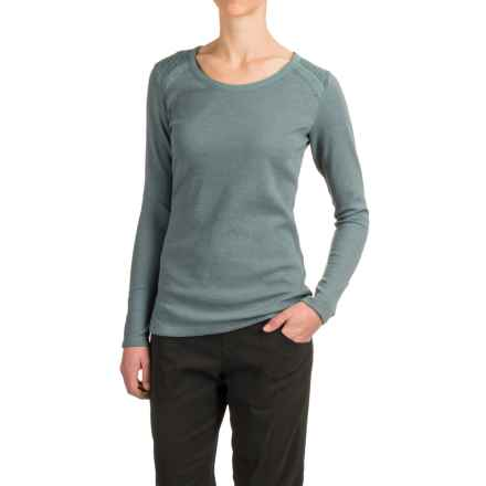 Woolrich Fairmount Waffle Shirt - Long Sleeve (For Women) in Light Majolica - Closeouts