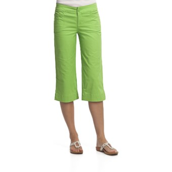 Woolrich Fairwinds Clam Digger - Stretch Cotton (For Women) in Sprout