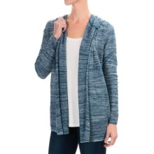 Woolrich Fairwood Hooded Cardigan Sweater (For Women) in Atlantic Multi - Closeouts
