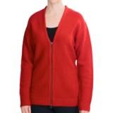 Woolrich Fall Brook Cardigan Sweater - Lambswool, Full Zip (For Women)