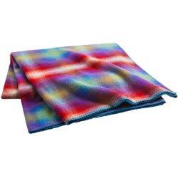 """Woolrich Fawn Grove Throw Blanket - Wool, 54x70"""" in Multi Ombre"""
