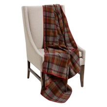 "Woolrich Fawn Grove Throw Blanket - Wool, 54x70"" in Tabacco - Closeouts"