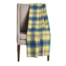 "Woolrich Fawn Grove Throw Blanket - Wool, 54x70"" in Yellow Ombre - Closeouts"