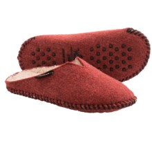 Woolrich Felt Mill Scuff Slippers (For Women) in Burgundy Red - Closeouts