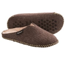 Woolrich Felt Mill Scuff Slippers (For Women) in Java - Closeouts