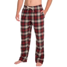 Woolrich Fireside Flannel Lounge Pants (For Men) in Dark Plum - Closeouts