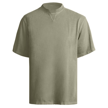 Woolrich First Fork T-Shirt - Short Sleeve (For Men) in Light Olive