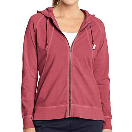 Woolrich First Forks Hoodie - UPF 50, Full Zip (For Women) in Carmine - Closeouts
