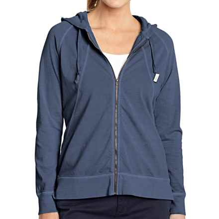 Woolrich First Forks Hoodie - UPF 50, Full Zip (For Women) in Deep Indigo - Closeouts