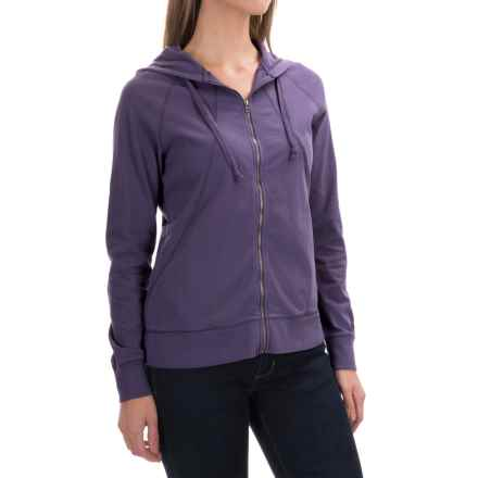 Woolrich First Forks II Hoodie - Cotton (For Women) in Wild Grape - Closeouts
