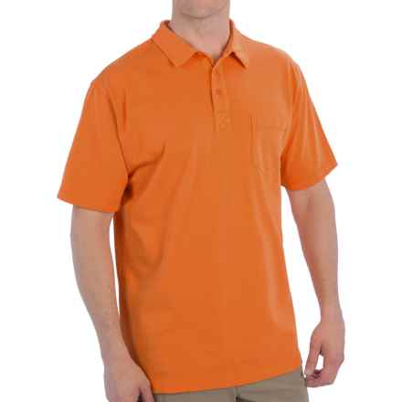 Woolrich First Forks Polo Shirt - UPF 50, Short Sleeve (For Men) in Burnt Orange - Closeouts