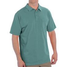 Woolrich First Forks Polo Shirt - UPF 50, Short Sleeve (For Men) in Cove - Closeouts