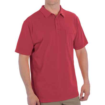 Woolrich First Forks Polo Shirt - UPF 50, Short Sleeve (For Men) in Crimson - Closeouts