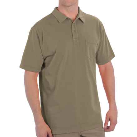 Woolrich First Forks Polo Shirt - UPF 50, Short Sleeve (For Men) in Shale - Closeouts