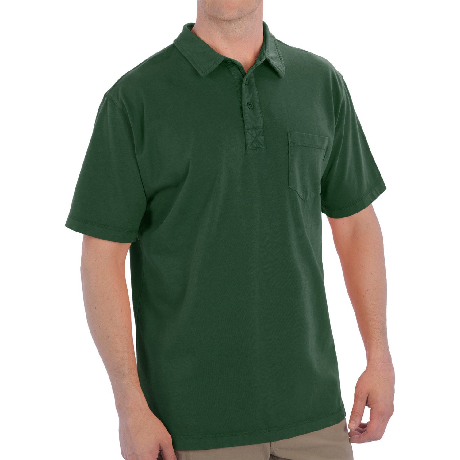 Woolrich first forks polo shirt for men for Short sleeved shirts for men