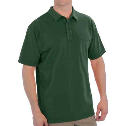 Woolrich First Forks Polo Shirt - UPF 50, Short Sleeve (For Men) in Utility Green - Closeouts