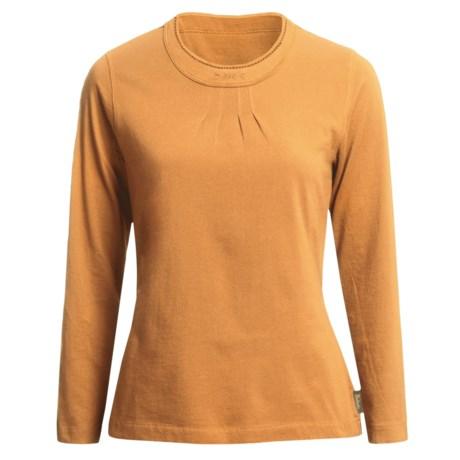 Woolrich First Forks Shirt - Long Sleeve (For Women) in Caramel