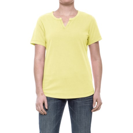 Woolrich First Forks Shirt - Short Sleeve (For Women) in Charlock