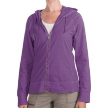 Woolrich First Forks Sweatshirt - UPF 50+, Zip Front (For Women) in Crocus - Closeouts