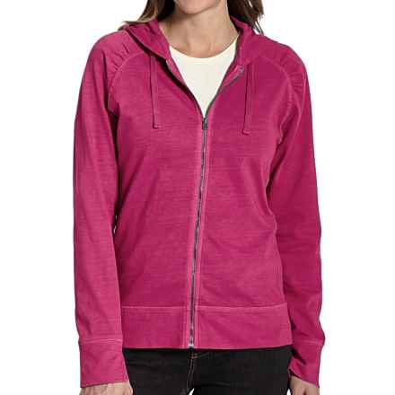 Woolrich First Forks Sweatshirt - UPF 50+, Zip Front (For Women) in Razzleberry - Closeouts