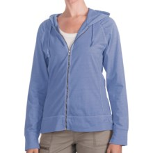 Woolrich First Forks Sweatshirt - UPF 50+, Zip Front (For Women) in Sky - Closeouts