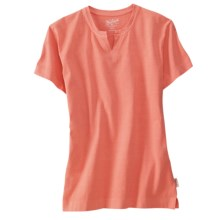 Woolrich First Forks T-Shirt - Cotton Jersey, Short Sleeve (For Women) in Calypso - Closeouts