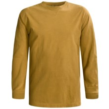 Woolrich First Forks T-Shirt - Long Sleeve (For Men) in Amber - Closeouts