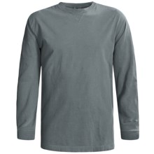 Woolrich First Forks T-Shirt - Long Sleeve (For Men) in Chambray - Closeouts