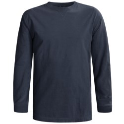 Woolrich First Forks T-Shirt - Long Sleeve (For Men) in Deep Ingigo