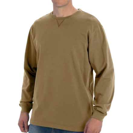 Woolrich First Forks T-Shirt - Long Sleeve (For Men) in Walnut - Closeouts