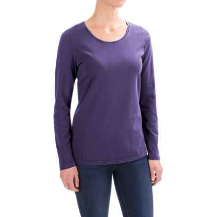 Woolrich First Forks T-Shirt - Long Sleeve (For Women) in Royal Purple - Closeouts