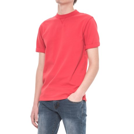 Woolrich First Forks T-Shirt -  Short Sleeve (For Men) in Old Red
