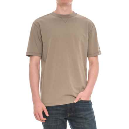Woolrich First Forks T-Shirt -  Short Sleeve (For Men) in Shale - Overstock