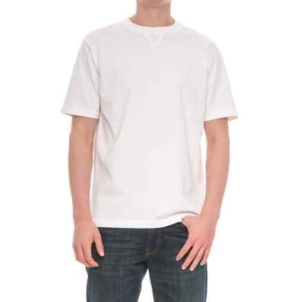 Woolrich First Forks T-Shirt -  Short Sleeve (For Men) in White - Overstock