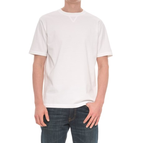 Woolrich First Forks T-Shirt -  Short Sleeve (For Men) in White