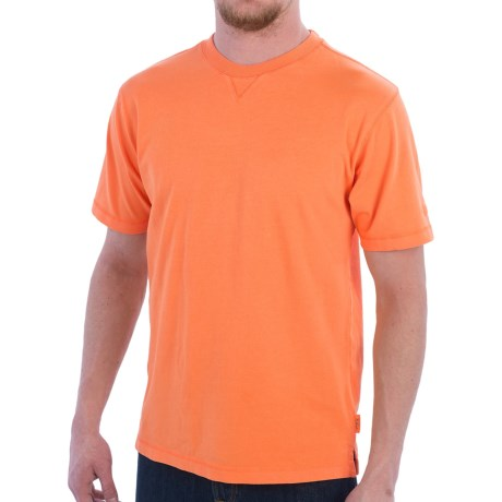 Woolrich First Forks T-Shirt - UPF 50, Short Sleeve (For Men) in Burnt Orange